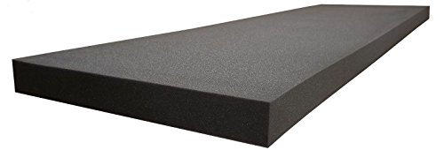 Acoustic Foam provides better soundproofing Prime Condition. use in recording studios, control rooms, Offices home studios, Acoustic Foam Flat Panel Studio Soundproofing Foam Wall Panel 48' X 24' X 1'