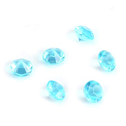 Weikeya Blue Acrylic Beads, with Acrylic Crafts Ideas Decor Beads Party Celebration Decor