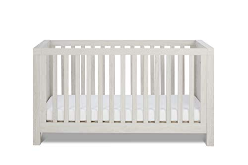 Silver Cross Coastline Baby Cot Bed - Convertible Baby and Toddler Bed with 3 Base Heights