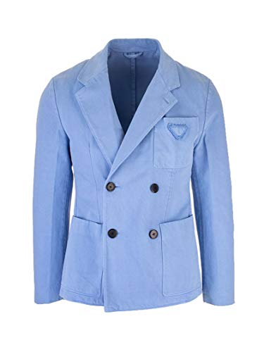 Prada Luxury Fashion Herren UGS106S2011V3FF0APY Hellblau Baumwolle Blazer   Frühling Sommer 20