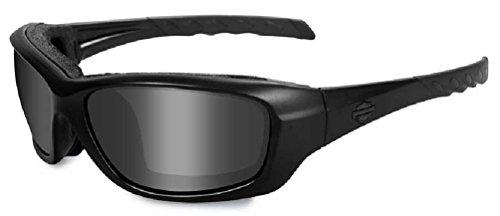 HARLEY-DAVIDSON Wiley X Gravity Smoke Grey Motorrad Brille