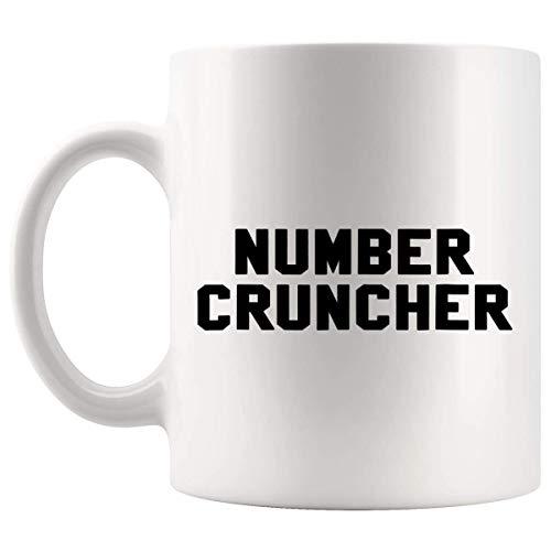 Taza Mug Tazas Contador de Number Cruncher 330Ml
