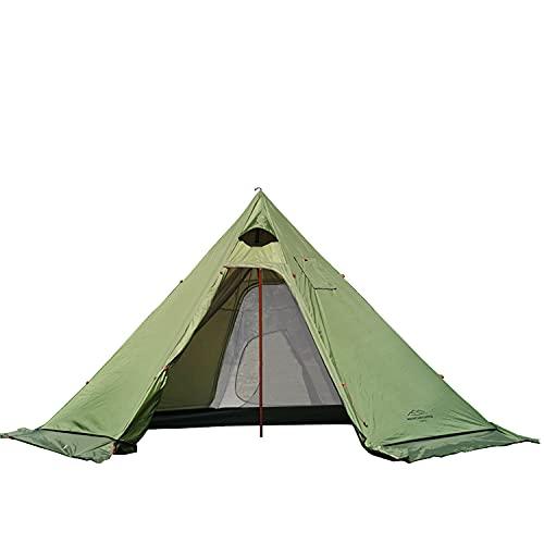 薪ストーブが使える煙突付きテントおすすめ10選|事故を回避して冬キャンプを楽しむのサムネイル画像