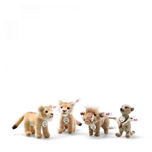 Steiff 354922 König der Löwen Set limitiert auf 994 Stück Disney 4-teilig Sammlertiere