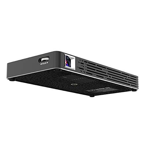 NCBH draadloze projector voor thuis Android HD DLP kinderprojector voor vroegtijdige educatieve accu geschikt voor smartphone, tablet, computer