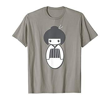 Japanese Kokeshi Doll T-Shirt Tee Japan