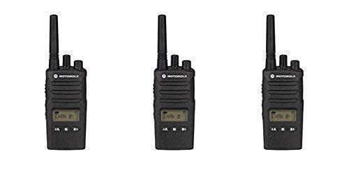3 Pack of Motorola RMU2080d Business Two-Way Radio LED Display 2 Watts/8 Channels