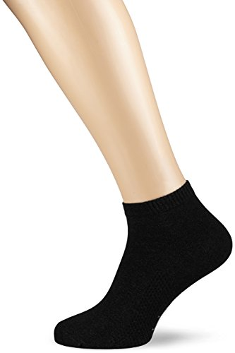 Nur Der Herren Air Comfort Sneaker Socke Sneakersocken, Schwarz (schwarz 940), 43/46