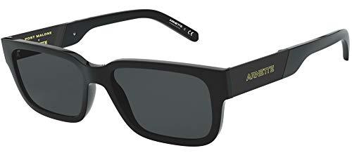 Arnette Gafas de Sol AN 4273 POST MALONE GLOSS BLACK/GREY 53/17/145 hombre