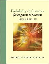 Probability and Statistics for Engineers and Scientists 9th (nineth) edition Text Only