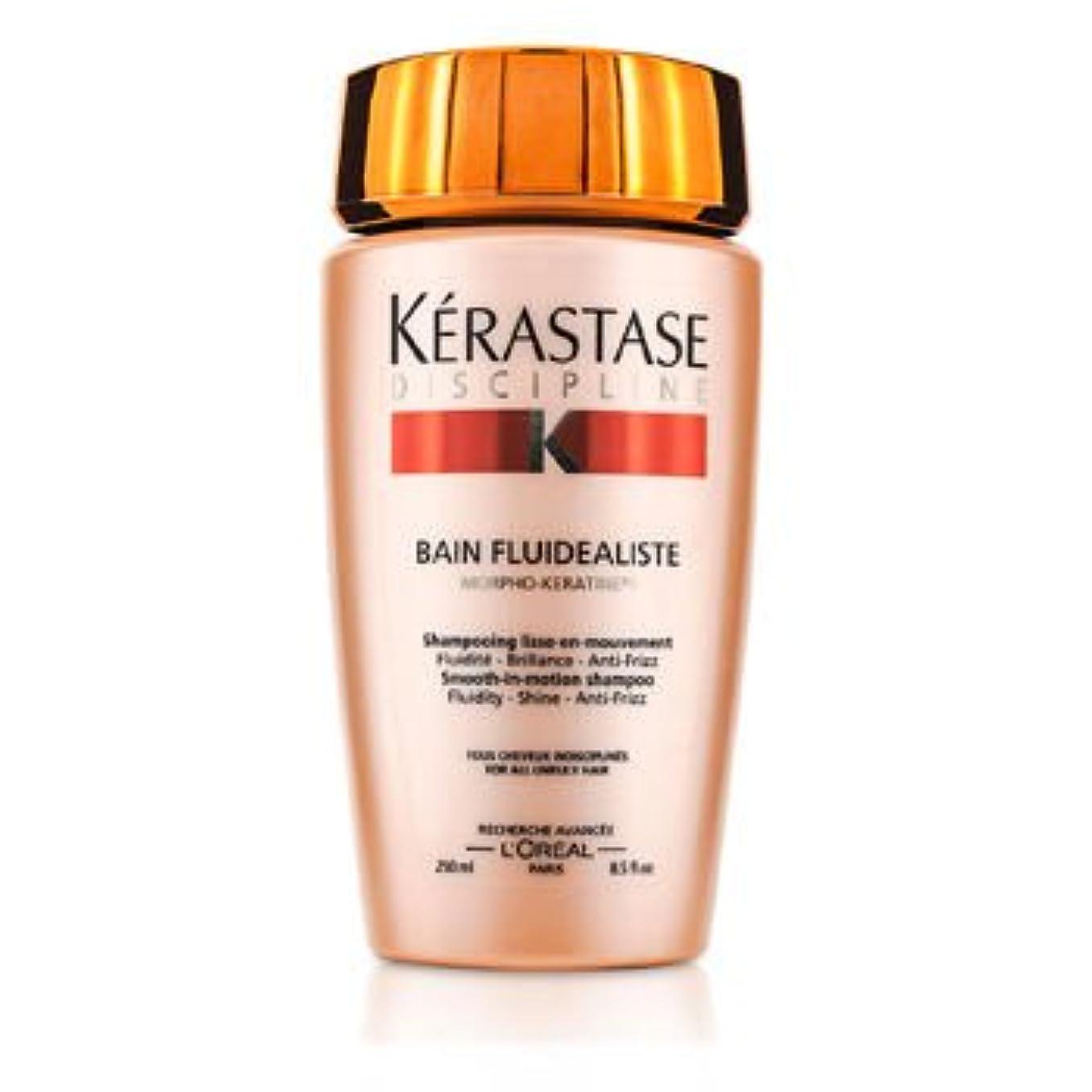 腐食する気怠い後退する[Kerastase] Discipline Bain Fluidealiste Smooth-In-Motion Shampoo (For All Unruly Hair) 250ml/8.5oz