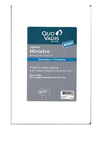 Quo Vadis 015009Q Ricambio Agenda Settimanale Ministro,16x24