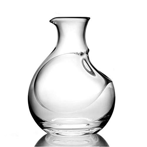 250ML di vetro bottiglia di vino Hole Sake vetro ghiaccio Caraffa Hamster Nest di raffreddamento della birra in camera del dispositivo di raffreddamento Mini Vino regalo Caraffa Superior Decanter