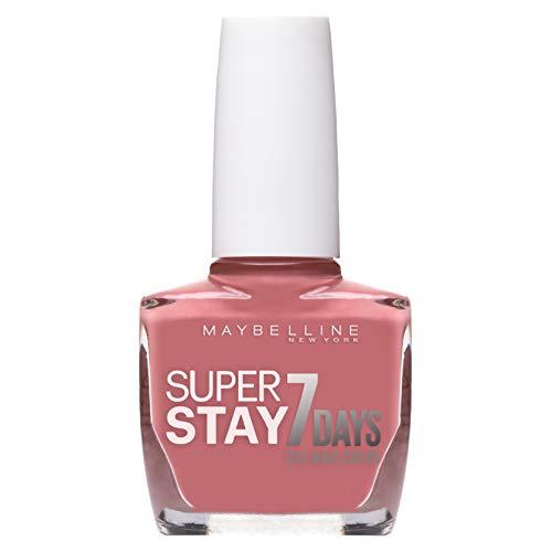 Maybelline New York - Superstay 7 Días, Esmalte de Uñas Efecto Gel, Tono 135 Nude Rose