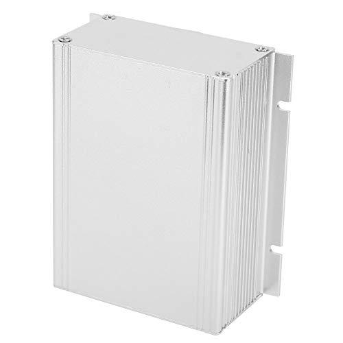 Caja de instrumentos de placa de circuito impreso tipo split de aleación de aluminio, caja de proyecto de metal, caja de proyecto electrónico, para disipación de calor de señal de escudo