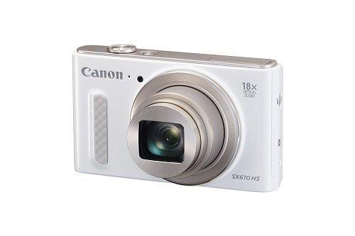 Canon PowerShot SX610 HS - Wi-Fi Enabled (White)...