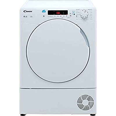 Candy CSC10DF Freestanding B Rated Condenser Tumble Dryer - White
