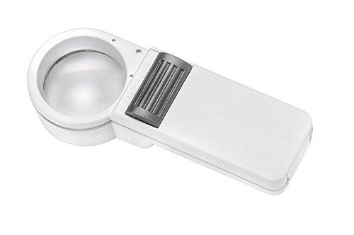 ESCHENBACH OPTIK Mobilux Economy 7,0X Taschenleuchtlupe mit NF-Glühlampe (35 mm)