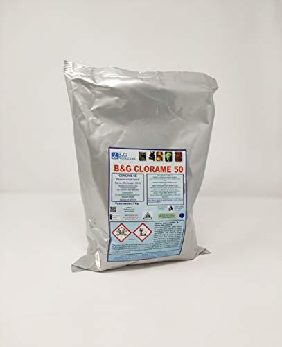 B&G PRODUZIONI B&G Ossicloruro di Rame al 50% 1 kg Libera Vendita Consentito in Agricoltura Biologica