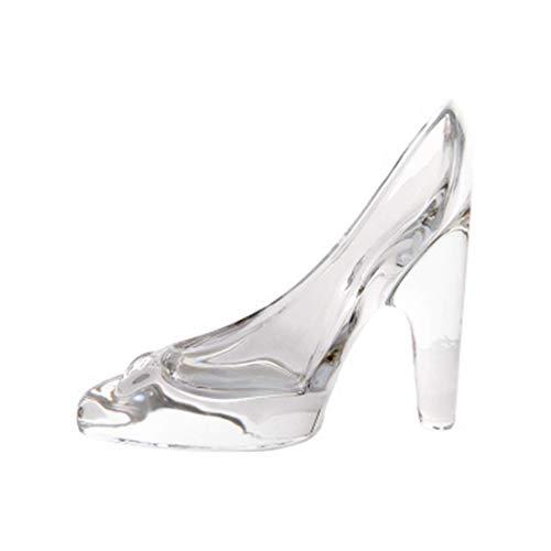 Demarkt Mini Kristallglas Schuhe Ornament Glasschuh Transparent Glas Schuh Deko Schuh