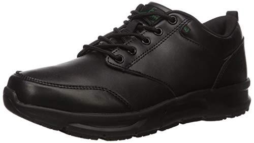 Emeril Lagasse Women's Quarter Food Service Shoe, Black Leather, 11 W US