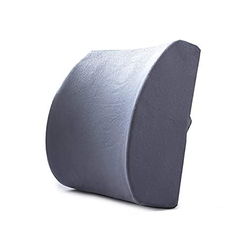 Almohada para la Espalda Almohada Lumbar para automóvil Cojín Lumbar ergonómico Almohada de Apoyo de Espuma viscoelástica Almohada para el Dolor de Espalda Lord Support Cojín de Asiento cóm
