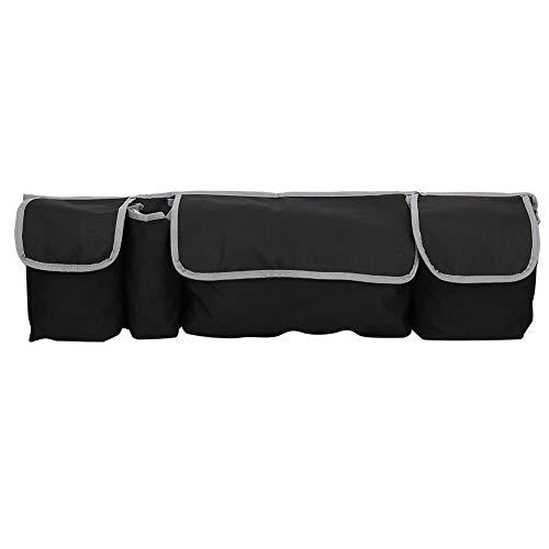 Auto Rückensitze Tasche Outdoor Universal Auto Kofferraum Aufbewahrungstasche Hängende Rücksitze Rückentaschen Organizer Schwarz