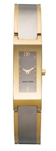 Danish Design 3326443 - Reloj de Mujer de Cuarzo, Correa de Titanio Color