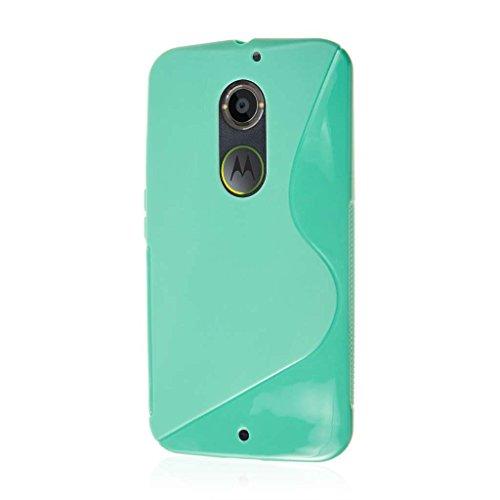 Moto X 2nd Gen Case, MPERO Flex S Series Protective Case for Motorola Moto X XT1096 (2nd Gen 2014) - Mint Green