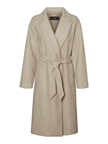 Vero Moda VMFORTUNE Long Jacket PI Abrigo