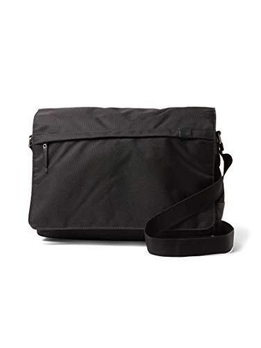 TOM TAILOR Herren Taschen & Geldbörsen Messenger Bag Simon schwarz/Black,OneSize
