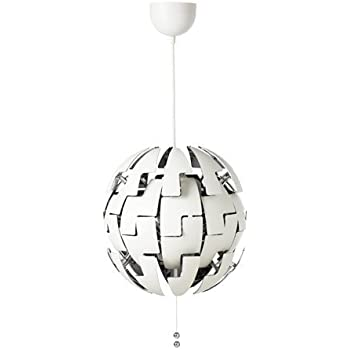 IKEA(イケア) IKEA PS 2014 ペンダントランプ, ホワイト, シルバーカラー (40311496)