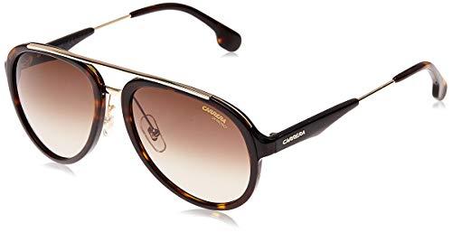 Carrera 132/S HA 2IK Gafas de sol, Dorado (HAVANA GOLD/BRWN SF), 57 Unisex-Adulto