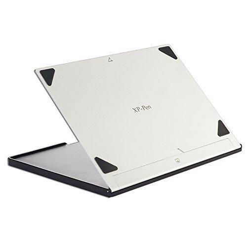 XP-PEN AC18 Soporte Antideslizante de Metal Plateado para Pantallas y Tabletas Gráficas