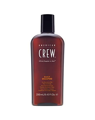 AMERICAN CREW   Tägliches Shampoo für Normales bis Fettiges Haar, 1er Pack (1 x 250 ml)
