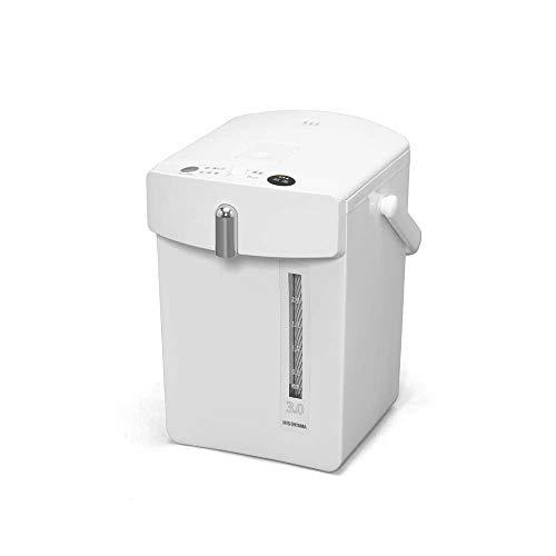 アイリスオーヤマ 電気ポット 3.0L ジャーポット 保温機能 マグネットコード ホワイト IMHD-030-W