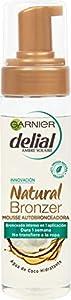 Garnier Delial Natural Bronzer Mousse Autobronceadora con Agua de Coco Hidratante - 200 ml