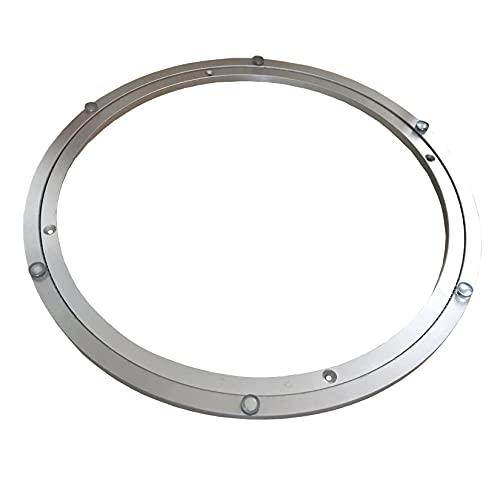 WXZX Cojinete Giratorio 350 Mm, 450 Mm, Rotación De Mesa De 360 Grados, Plato Giratorio De Aluminio como Soporte para Televisor, Seguro Y Cómodo De Usar, Variedad De Tamaños para Elegir
