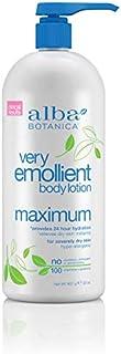Alba Botanica Very Emollient Maximum Body Lotion, 32 oz.