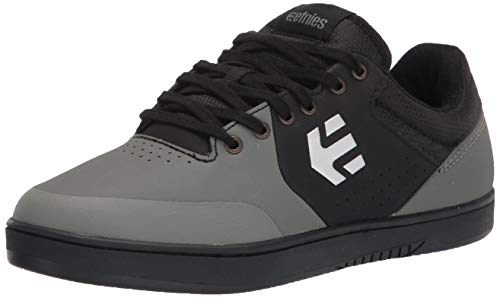 Etnies mens Marana Crank Mtb Bike Skate Shoe, Dark Grey/Black, 8.5 US