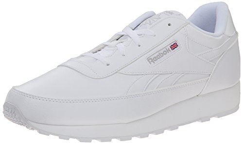 Reebok Men's Classic Renaissance Fashion Sneaker, White/Steel, 11 M US