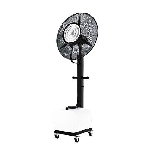 Ventilador de pie oscilante con nebulizador de agua/función ionizador de aire/Ventiladores de pedestal/Ventilador Industrial de pie /3 Velocidades/deposito Agua 65 litros