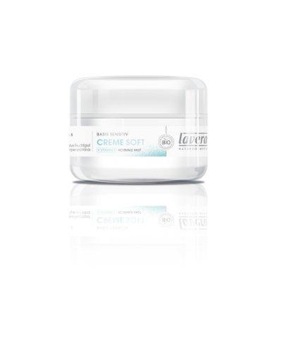 Lavera basis sensitiv Creme Soft, 2er Pack (2 x 150 ml)