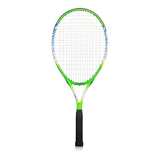 Mikelabo - Raqueta de tenis para niños, 25 unidades, color verde