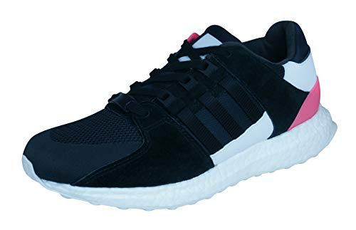 adidas Originals EQT Support Ultra Mens Synthetic Material Trainers Black/Grey/White/Red - 5.5 UK