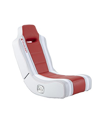 X Rocker Hydra 2.0 Floor Rocker Gaming Chair with 2.0 Audio System (Red)