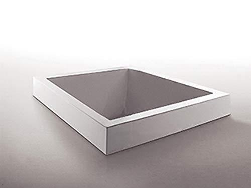 Zucchetti Kos Grande Miami Quadra bañera de hidromasaje empotrada 1GUA1BI0CR-Impianto Blower