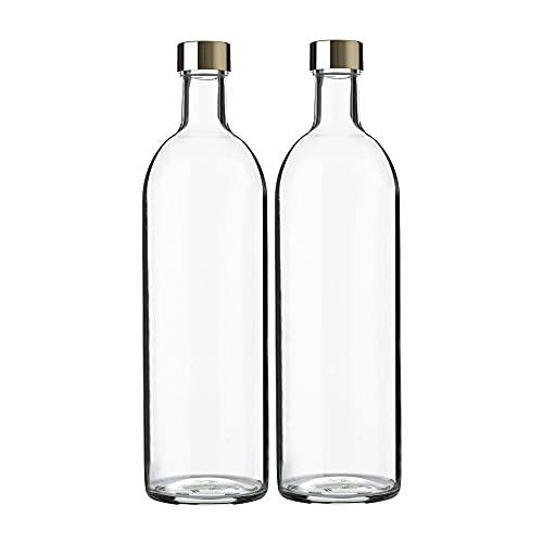ガラス瓶 ワインボトル 720ml クリア 2本セット 日本製 GLASS BOTTLE SK720PGFG2