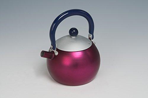 Urban Lifestyle Teiera Alois di Alluminio con Filtro di tè (Rosso) 0,5 L