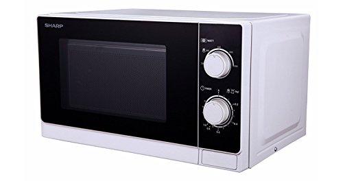 Sharp R-600WW Countertop Combination microwave 20L 800W Black,White microwave - Microwaves (Countertop, Combination microwave, 20 L, 800 W, Rotary, Black, White)